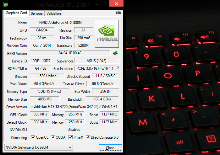 Geforce GTX 980M