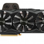 Zotac shows the GTX Titan X, with liquid cooling and three fans