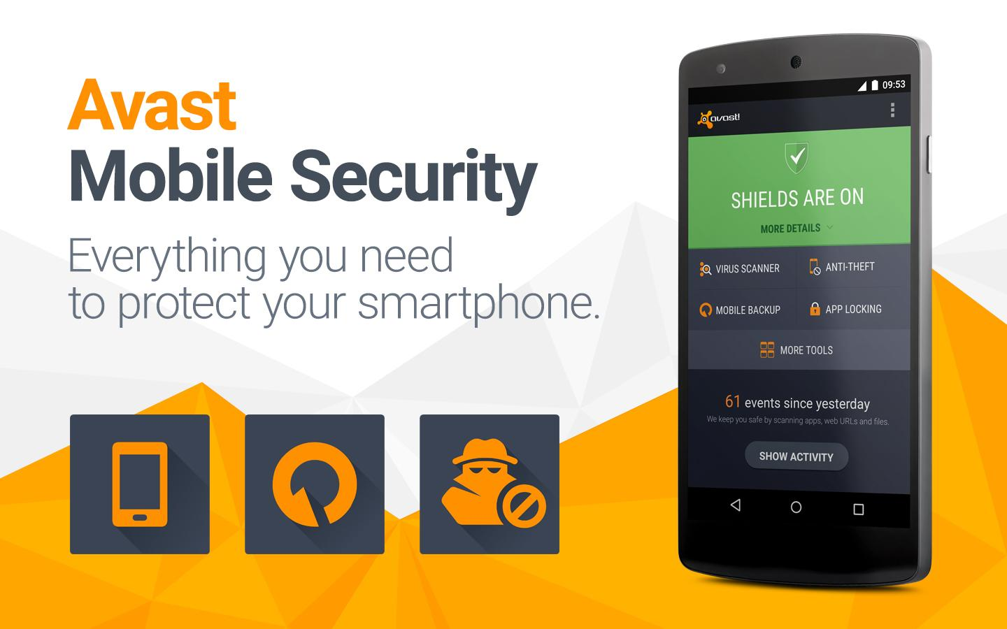 Phone Antivirus Free For Android Phone the best android antivirus 2017 for phone and tablet pc4u 2 avast mobile security