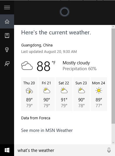 Hello Cortana