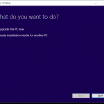 How to create a Windows 10 bootable USB disk for a clean installation