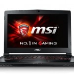 MSI GS40 Phantom, the maximum power at 14 inches
