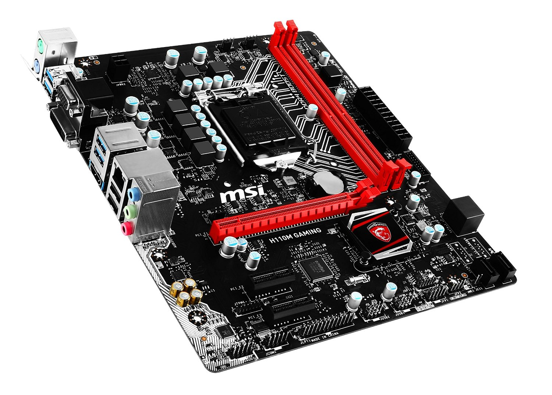 MSI H110M Gaming LGA 1151