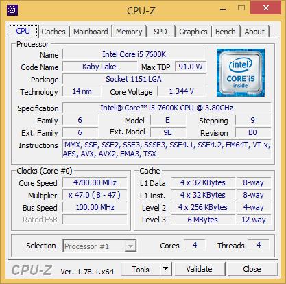 Core i7-7600K